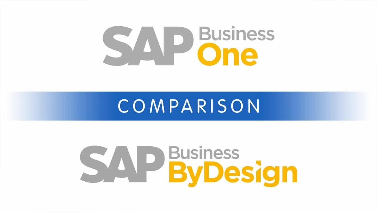 SAP Business One vs. SAP Business ByDesign